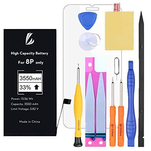 LL TRADER Batería para iPhone 8 Plus 3550 mAh, Reemplazo de Alta...