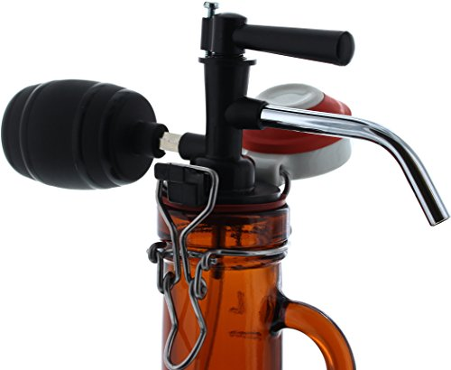Zapfgerät mit Luftpumpe für Bier-Siphons