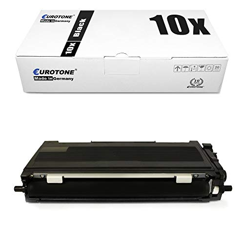 10x Eurotone Toner für Brother DCP-L 2500 2520 2540 2560 2700 DW D CDW DN CDN ersetzt TN-2310