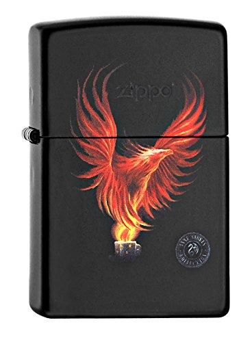 Zippo 60002084 PL Anne Stokes Feuerzeug, Messing, Edelstahloptik, 1 x 3,5 x 5,5 cm