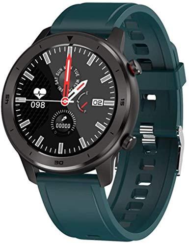 Reloj inteligente de los hombres de la aptitud del seguimiento de las mujeres dispositivos portátiles IP68 Smartwatch ritmo cardíaco reloj de pulsera de los hombres Smart Watch-F