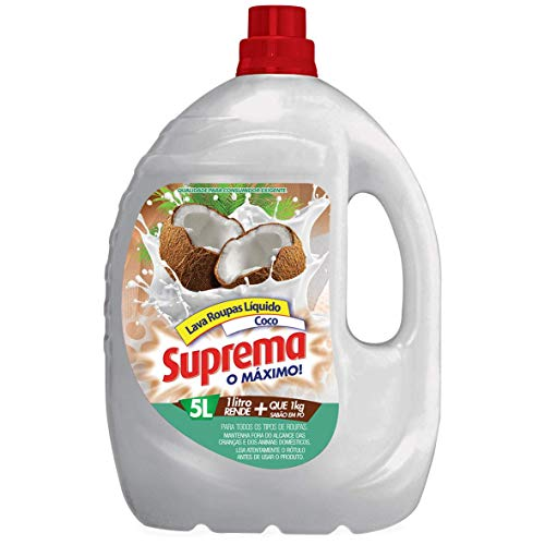 Suprema Lava Roupas Coco 5L