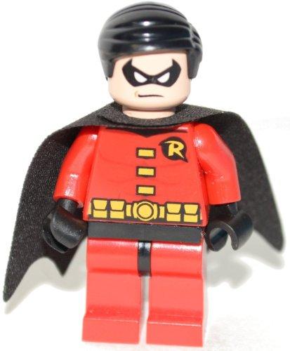 LEGO DC Comics Super Heroes Batman Minifigure - Robin (Red)