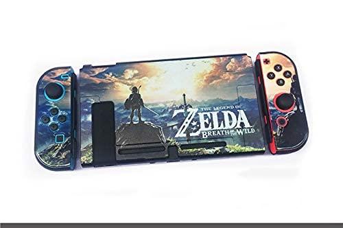 Funda Protectora para Juegos Compatible con Nintendo Switch Classic, Famoso Videojuego, Bonita Funda de diseño para Todos los Jugadores de Z-Leda o Switch, Estuches rígidos y a Prueba de caí