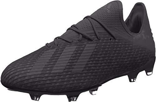 adidas Herren X 19.2 Fg Fußballschuhe, Schwarz (Core Black/Utility Black/Silver Met. Core Black/Utility Black/Silver Met.), 48 EU