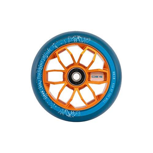 0815Monopattino Rotolo Wheel 110mm o 120mm con Cuscinetti a Sfera ABEC 11Adatto per MGP Madd Gear/Apollo/Cox Swain/Hudora/Chilli etc, Orange, 120 mm