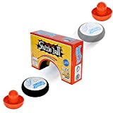 Techson Table Air Hockey Set for Kids, Mini Electric Floating Hockey Disk Game, Novelty Tabletop Shuttle Ball...