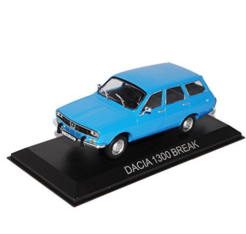 alles-meine.de GmbH Dacia 1300 Break Kombi Blau Baugleich Renault 12 1/43 Modellcarsonline Modell Auto