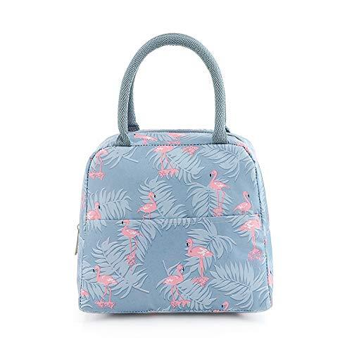Youkii - Bolsa isotérmica para el almuerzo, impermeable, bolsa de almuerzo, bolsa de almuerzo portátil, bolsa de viaje, caja de nevera de alimentos, 1 unidad