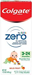Colgate Zero baby toothpaste, mild fruit - 3-24 months, 1.75 Ounce