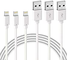Lightning Cable - MFi Certified - Quntis 3Pack 2M Premium Lightning to USB A Charger Cable Compatible with iPhone 13 12...