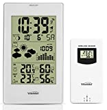 Youshiko YC9331 Wireless Weather Station, (Official UK Version) Radio Controlled Clock Indoor Outdoor