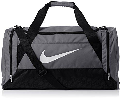Nike Borsone da calcio Brasilia - Grigio (grigio/nero) - Taglia Unica
