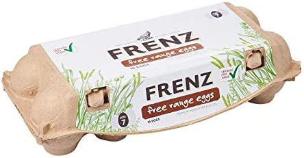Frenz Free Range Certified Eggs, 10 Count- Chilled