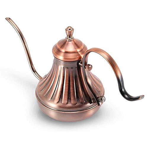 420 ml 650 ml koffiezetapparaat Karaffen Zwanenhalsketel Royal Fine Mouth Koffiepot 304 roestvrijstalen infuuskoffie Lange schenktuit Giet over koffiemaker Theepot, 650 ml