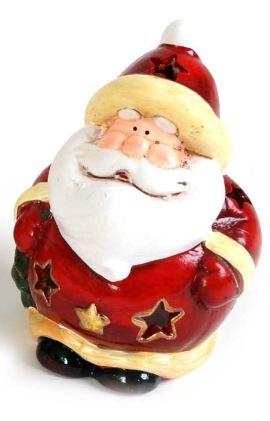 Décoration pour bougieà chauffe-plt, père Noël, des modèles diffèrents, (Modèle 2)