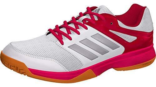 Adidas Speedcourt W, Zapatillas de Deporte Mujer, Multicolor (Ftwbla/Pltémé/Rosfue 000), 38 2/3 EU