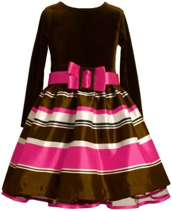 Fuchsia and Brown Striped Hipster 6