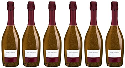 Bio Wein Schaumwein Pinot Noir Deutschland Mosel-Saar-Ruwer 2018 Crémant Sekt Vegan (6 x 0.75l)