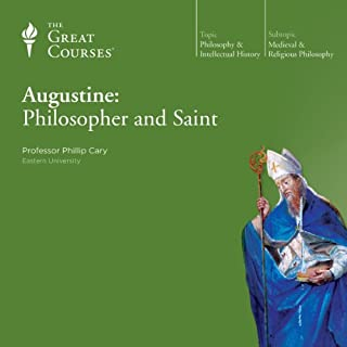 Augustine: Philosopher and Saint                   By:                                                                                                                                 Phillip Cary,                                                                                        The Great Courses                               Narrated by:                                                                                                                                 Phillip Cary                      Length: 6 hrs and 12 mins     224 ratings     Overall 4.5