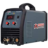 Amico TIG-205HF, 205 Amp TIG Torch Stick Arc DC Inverter Welder, High Frequency & High Voltage 100% Start, 95~260V Wide Voltage Welding Machine.