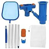 iFCOW Piscina Hoja Malla Net Set Piscinas Hoja Skimmer Herramientas de limpieza para fuente de estanque
