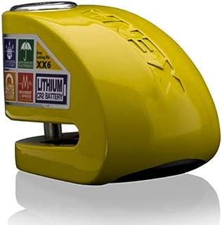 XENA - Motorcycle Disc Lock Alarm Yellow
