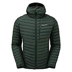 MONTANE Icarus Jacket - Mens, Arbor Green, Medium, MICJAARBM6