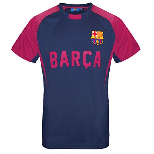 FC Barcelona Camiseta para hombre de fútbol oficial, de poliester, para entrenar - - XX-Large