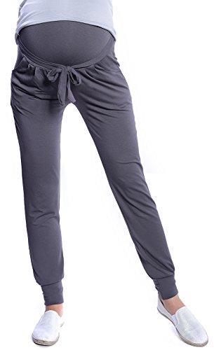 Mija - Pantalones relajados de maternidad Harem Alladin 4012