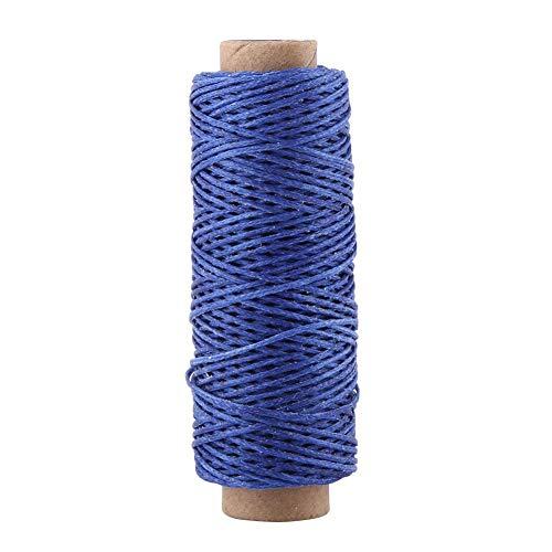 Alle doeleinden Naaidraad Spools Polyester Naaidraden voor Drapery, Kralen, Handtassen, Leer, 55 Yards, Hoge Kracht Royal Blauw