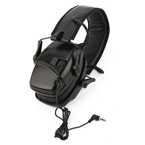 RSGK Outdoor jacht lawaai annuleren koptelefoon, elektronische schieten oordopjes, opvouwbare gehoorbescherming hoofdtelefoon, ideaal voor de jacht en schieten