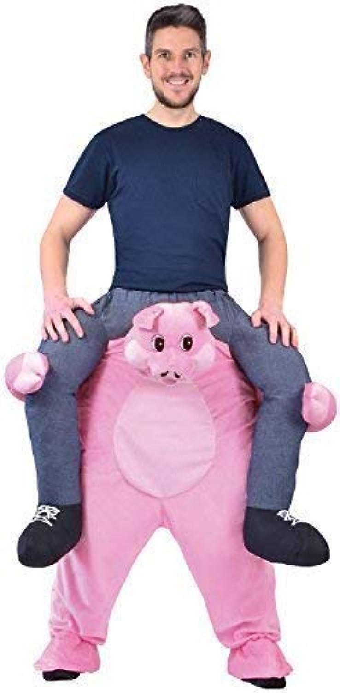 Erwachsene Schritt darauf Reiten Schweinchen Schwein Tier Karneval Herrenabend Henne Do Abend Party Kostüm Kleid Outfit B07BGFZNWN Luxus  | Deutschland Shop