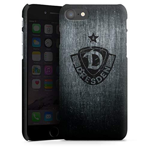 Premium Case kompatibel mit Apple iPhone 7 Smartphone Handyhülle Hülle matt SG Dynamo Dresden Offizielles Lizenzprodukt Vintage