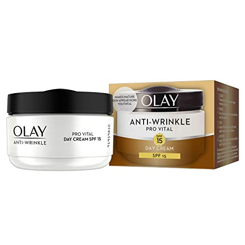 Olay Anti-Wrinkle Provital Day Cream for Mature Skin - SPF 15 - 50ml