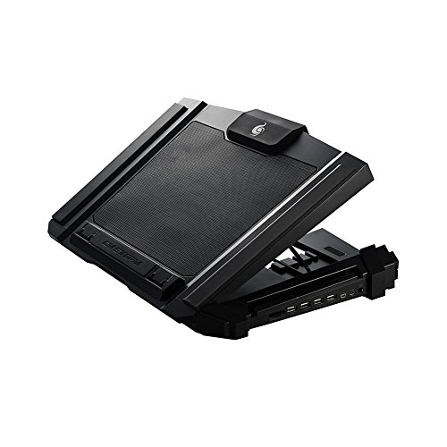 Cooler Master CM Storm SF-17 - Gaming Laptop Cooling Pad with 180 mm Fan and 4 Ergonomic Height Settings