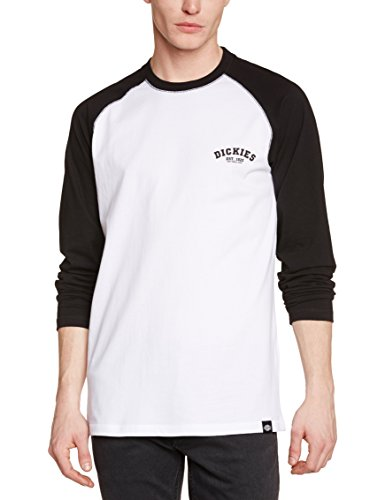 Dickies Herren Baseball Langarmshirt, Schwarz (Black Bk), Medium