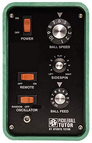 Pickleball Tutor Spin w/Remote - Pickleball Tutor is The #1 Selling Picklebal Machine Brand Worldwide.