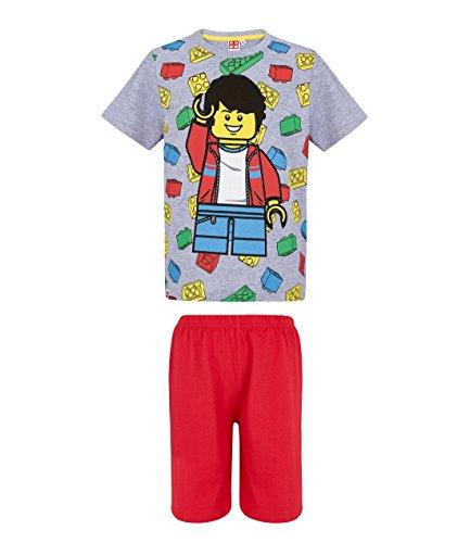 LEGO Chicos Pijama Mangas Cortas - Gris