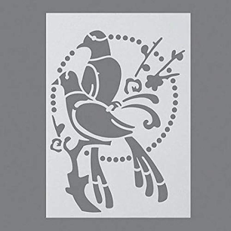 Efco Doves Stencil in 1 Design, Plastic, Transparent, A4