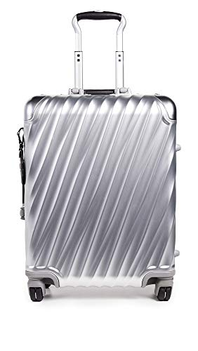 Fantastic Deal! Tumi Men's 19 Degree Aluminum Continental Carry On Suitcase, Silver, One Size