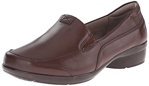Naturalizer womens Channing loafers shoes, Brown, 8.5 Wide US