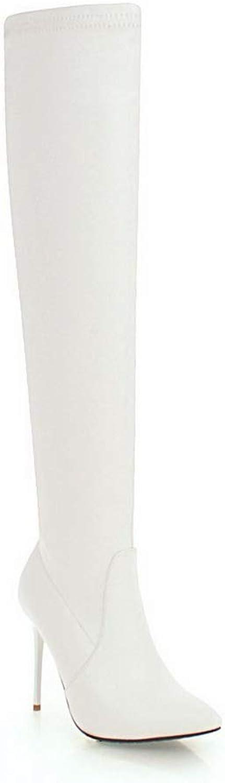 1TO9 MNS03211, Seali con Zeppa Donna, Bianco (bianca), 35