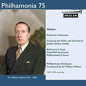 Philharmonia 75 Sir William Walton