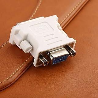 CamKpell DVI DVI-I Maschio 24 + 5 Pin a VGA Femmina Video LCD Convertitore Adattatore Spina per Dvd HDTV Maschio a Femmina...