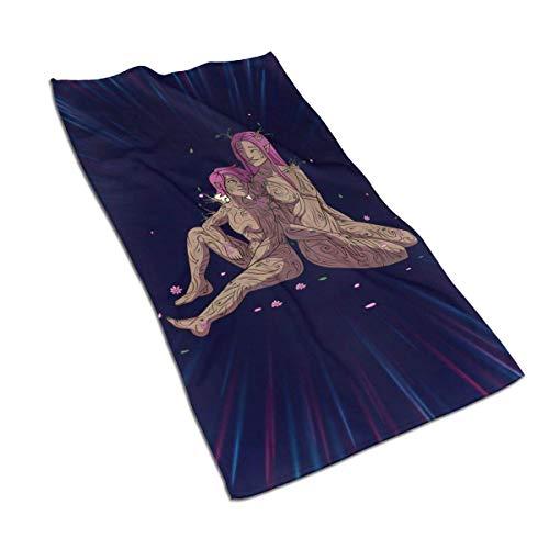 Candi-Shop The Adventure Zone Hurley & Sloane Toalla Deportiva Toallas de baño para Yoga Toalla de Entrenamiento (27.515.7in)