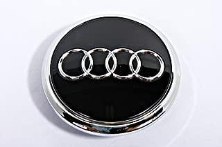 Genuine Alloy Wheel Center Hub Black Glossy Cap 1pcs AUDI Q7 2010-2013 Facelift