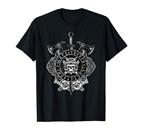 'Berserker' Warrior Viking Symbol, Norse, celtic T-Shirt