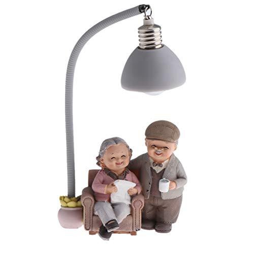 LOVIVER Familien Gartenfigur für Miniaturblumentopf Wohnkultur - Buch lesen