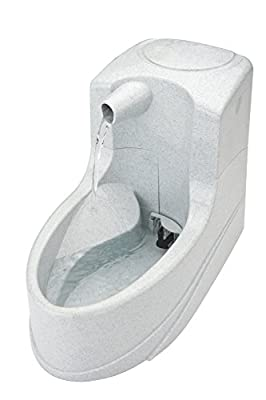 PetSafe Drinkwell, Anti Splash, Mini Pet Fountain, Silent, Compact, Easy Clean, Free Flowing, 1.2 Litre Drinking Fountain for All Pets by PetSafe